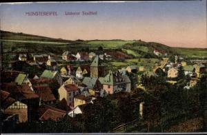 Ak Bad Münstereifel in Nordrhein Westfalen, Unterer Stadtteil