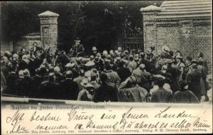 Ak Friedrichsruh Aumühle Schleswig Holstein, Ausfahrt des Fürsten Bismarck