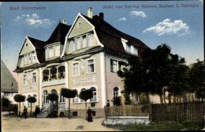 Ak Bad Dürrheim Baden Württemberg, Hotel und Pension Schwert