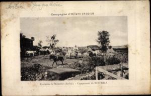 Ak Bisctrica Bitola Mazedonien, Campement, Campagne d'Orient