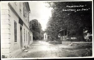 Ak Kirchberg am Wechsel in Niederösterreich, Haselbacher Gasthaus am Stein