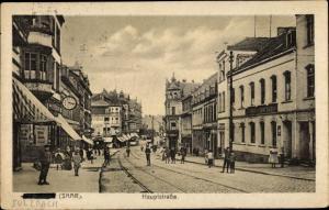 Ak Sulzbach Saarland, Hauptstraße, Geschäfte, Passanten