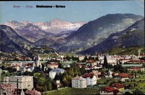 Ak Gries Bozen Bolzano Südtirol, Panorama