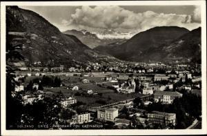 Ak Gries Bozen Bolzano Südtirol, Panorama Col Catinaccio