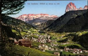 Ak St. Ulrich in Gröden Ortisei Südtirol, Val Gardena, Panorama