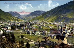 Ak Gries Bozen Südtirol, Panorama, Rosengarten