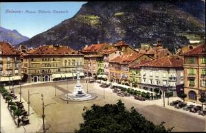 Ak Bozen Bolzano Südtirol, Piazza Vittorio Emanuele