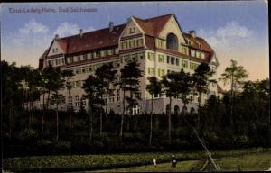 Ak Bad Salzhausen Nidda in Hessen, Ernst Ludwig Heim