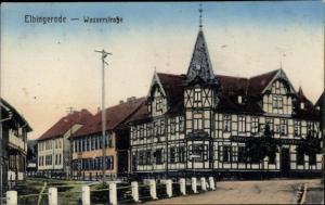 Ak Elbingerode Oberharz am Brocken, Wasserstraße