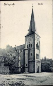 Ak Elbingerode Oberharz am Brocken, Kirche