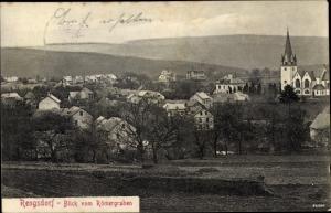 Ak Rengsdorf im Westerwald Rheinland Pfalz, Blick vom Römergraben