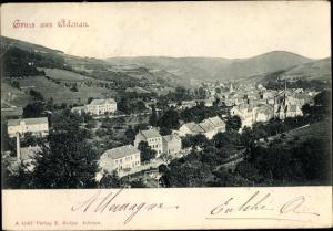 Ak Adenau im Kreis Ahrweiler Rheinland Pfalz, Panorama