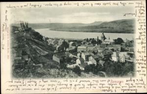 Ak Remagen im Kreis Ahrweiler, Panorama mit Rhein