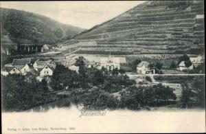 Ak Marienthal Bad Neuenahr-Ahrweiler Rheinland Pfalz, Panorama, Weinberg
