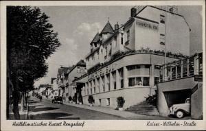 Ak Rengsdorf im Westerwald Rheinland Pfalz, Kaiser Wilhelm Straße, Kurhotel Eul