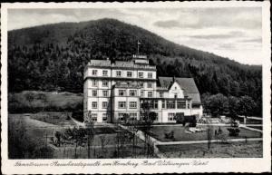 Ak Bad Wildungen in Nordhessen, Sanatorium am Homberg