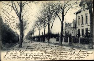 Ak Wadgassen im Kreis Saarlouis Saarland, Straßenpartie, Häuser