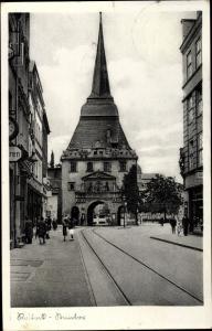 Ak Rostock in Mecklenburg Vorpommern, Steintor