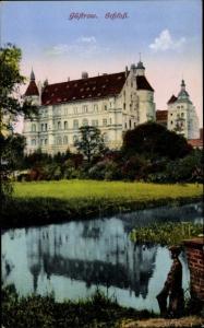Ak Güstrow im Kreis Rostock, Schloss