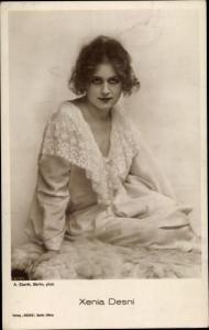 Ak Schauspielerin Xenia Desni, Portrait