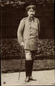 Ak Kaiser Wilhelm II., Portrait