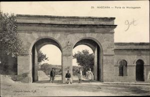 Ak Mascara Algreien, Porte de Mostaganem