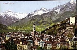 Ak Meran Merano Südtirol, Totalansicht