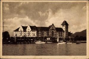 Ak Lochau in Vorarlberg, Strand Palast Hotel