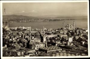 Ak Konstantinopel Istanbul Türkei, Panorama