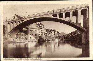 Ak Zella Niederösterreich, Hochbrücke