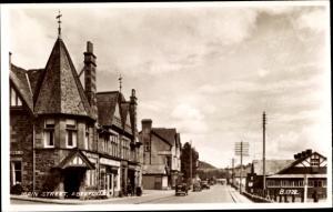Ak Aberfoyle Stirling Schottland, Main Street