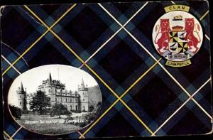Ak Inveraray Schottland, Campbell Clan, Castle
