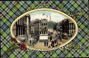 Passepartout Ak Ak Edinburgh Schottland, Register House, Waterloo Palace