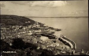 Ak Mousehole Cornwall South West England, General View