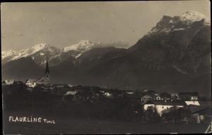 Ak Flaurling in Tirol, Panorama, Berge
