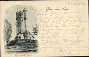 Ak Linz in Oberösterreich, Franz Josef Warte