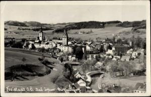 Ak Freistadt in Oberösterreich, Panorama, Kirche