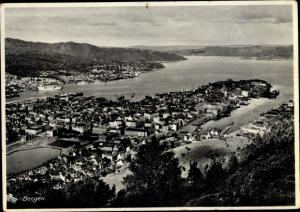 Ak Bergen Norwegen, Panorama
