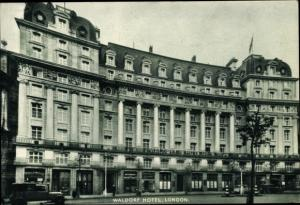 Ak London City England, Waldorf Hotel