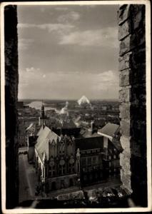 Ak Frankfurt Oder, Blick vom Turm der Marienkirche