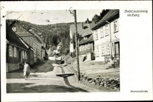 Ak Bad Lauterberg im Harz, Ortsansicht, Kummelstraße