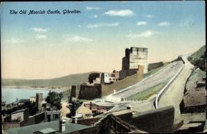 Ak Gibraltar, The old Moorisch Castle
