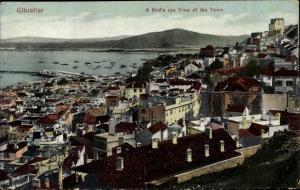 Ak Gibraltar, Bird's eye view of the town