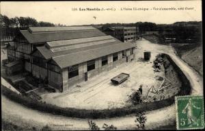 Ak Les Montils Loir et Cher, L'Usine Electrique, Stromkraftwerk