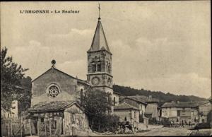 Ak Le Neufour Meuse, Ortsansicht, l'Eglise