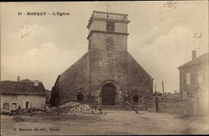 Ak Mouzay Meuse, l'Eglise