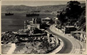 Foto Ak Valparaíso Chile, Caleta, El Membrillo