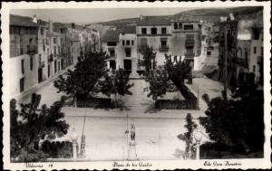 Ak Ulldecona Katalonien Spanien, Plaza de los Cuidos