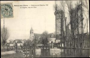 Ak Mehun sur Yevre Cher, Cháteau de Charles VII et l'Eglise