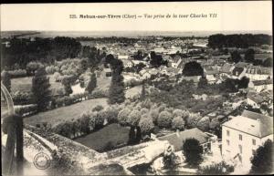 Ak Mehun sur Yevre Cher, Vue prise de la tour Charles VII